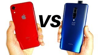 Apple iPhone XR vs OnePlus 7 Pro