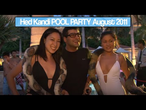 Hed Kandi Pool Party at Venetian Macau - 6th August 2011