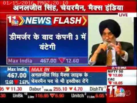 Max India News CNBCAwaaz