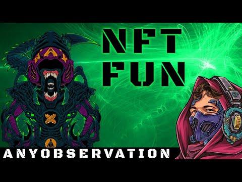NFT FUN stuff | Ripping some NFT packs!