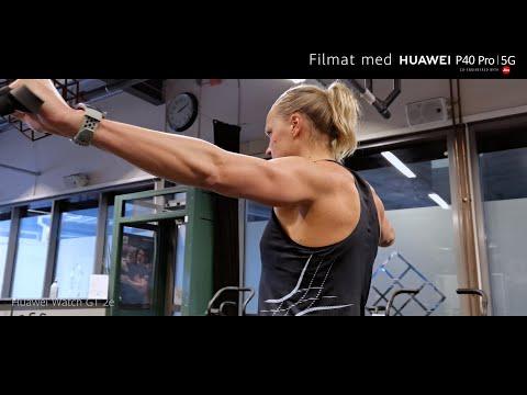En dag med Sarah Sjöström - Filmad med Huawei P40 Pro