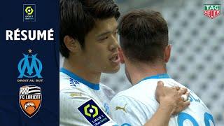 OLYMPIQUE DE MARSEILLE - FC LORIENT (3 - 2) - Résumé - (OM - FCL) / 2020-2021