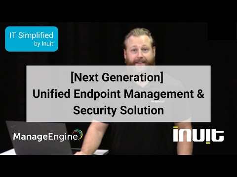 [Next Generation] Unified Endpoint Management & Security Solution