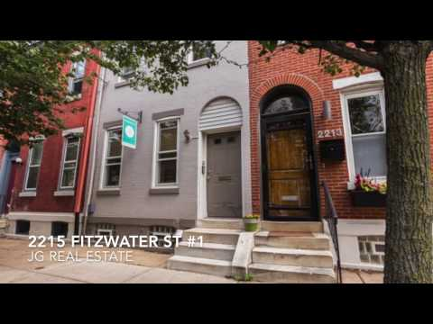 2215 Fitzwater St #1- Graduate Hosp. Apartment w/ Patio & Hardwoods