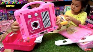 Đồ chơi nấu ăn ❤️ bếp Vali ❤️ kids fun play cooking food with Kitchen set | dạy cho bé chơi đồ hàng