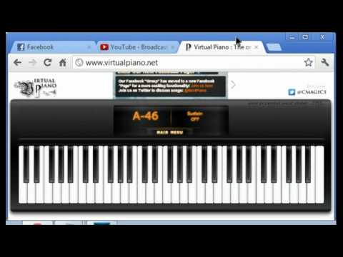 Virtual Piano, Video Especial Tocando Varias Musicas
