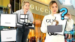 Sister Shops for Me at GUCCI! *it gets awkward*