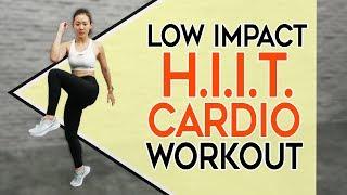 Low Impact HIIT CARDIO | No Jumping, No Weights | Joanna Soh