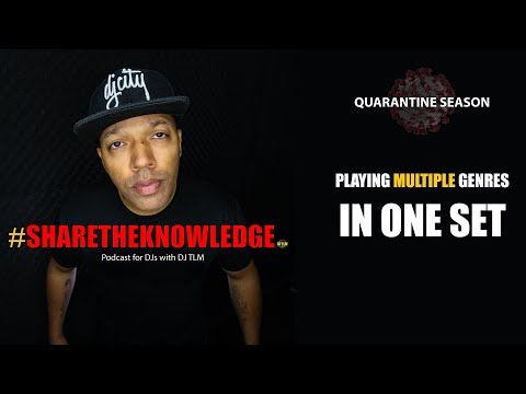 Playing multiple genres in one DJ set - Share The Knowledge podcast clips