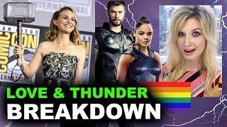 Thor Love & Thunder 2021 - Natalie Portman is Female Thor