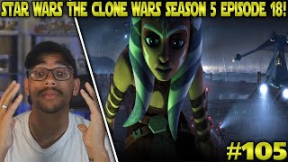 Star Wars: The Clone Wars: Season 5 Episode 18 Reaction! - The Jedi Who Knew Too Much Part 1 #105