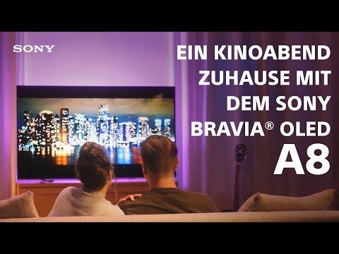 Ein Kinoabend zuhause mit dem Sony BRAVIA OLED A8