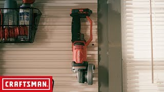 CRAFTSMAN V20* Cordless 4-1/2-in. Small Angle Grinder | Tool Overview