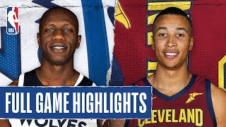 TIMBERWOLVES at CAVALIERS | FULL GAME HIGHLIGHTS | January 5, 2020