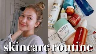 updated skincare routine | maddie cidlik