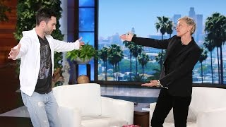 Adam Levine Talks His Daughter and 'Voice' Co-Stars