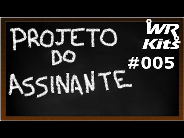 ROBÔ COM ARDUINO E SENSOR DE ULTRASSOM | Projeto do Assinante #005