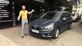 BMW 216 - EKONOMISKS ĢIMENES MINIVENS