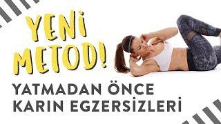 Yeni Metod: Uyumadan önce Karın Egzersiz