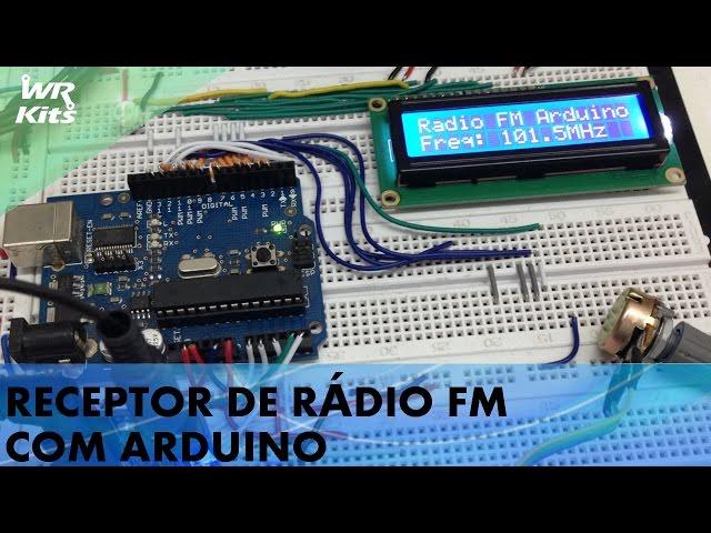 RECEPTOR DE RÁDIO FM COM ARDUINO