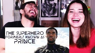 HONEST TRAILERS - BLACK PANTHER | Reaction!
