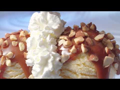 Braum's Caramel Brownie Sundae