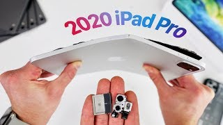 2020 iPad Pro Bend Test & Teardown! Still Bends?