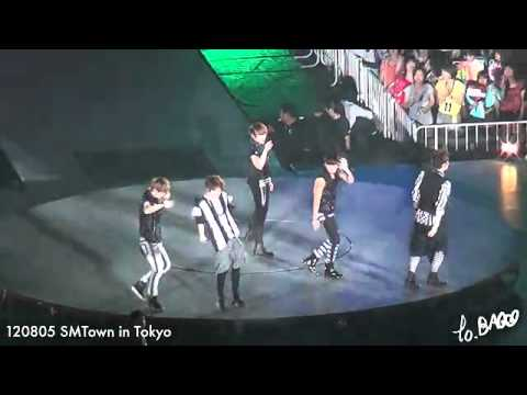 [FANCAM] 120805 SHINee with Luhan - Lucifer @ SMTOWN Tokyo 2012