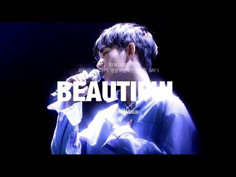 [4K] 180203 Beautiful - JBJ 용국 김용국 jinlongguo 솔로무대