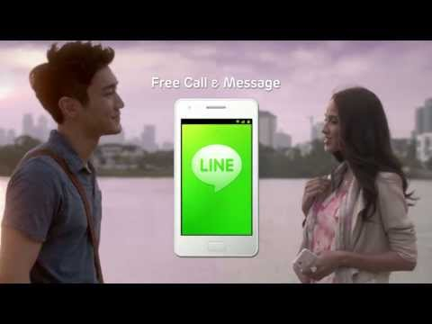 LINE TVC - LINE Brings You Closer (English)