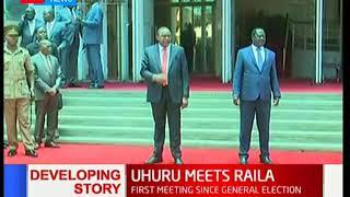 Could US Envoy Rex Tillerson's visit be the reason behind Uhuru-Raila talks?
