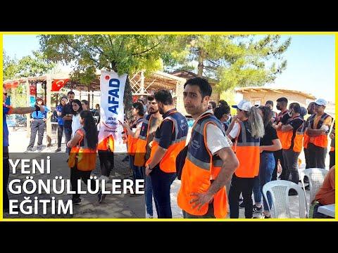 AFAD, Doğal Afetlere Karşı Gönüllüleri Eğitiyor