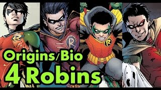 Origins/Bio: 4 Robins Of Batman. (New 52) Where Are They Now?