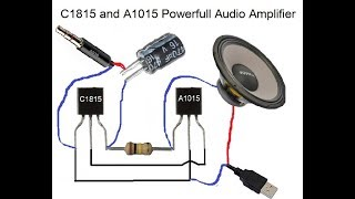 D718 Transistor Amplifier Circuit Diagram