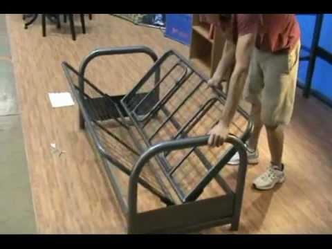 Bedloft Futon Assembly Youtube