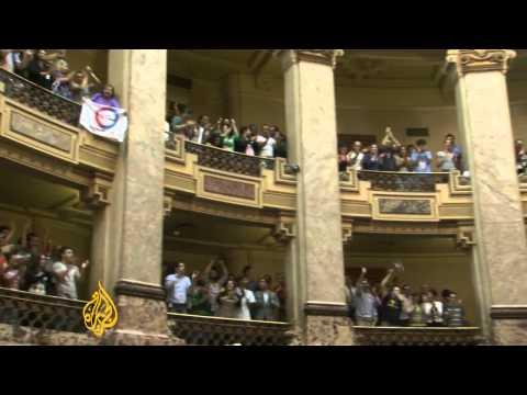 Uruguayans celebrate same-sex marriage
