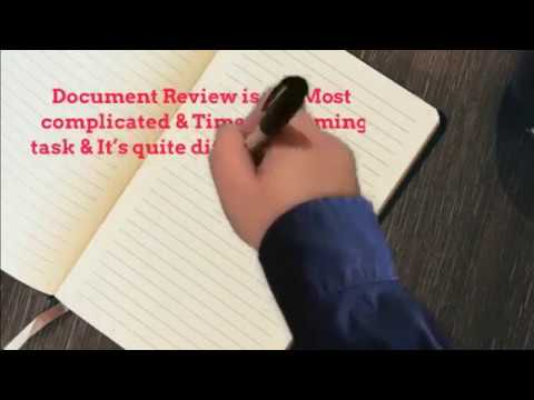 Legal Document Review Services - Outsource to Cogneesol