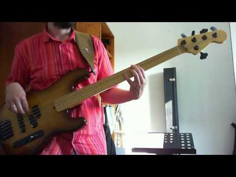 Genesis - Just a Job To Do bass cover