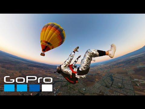 GoPro Awards: Hot Air Balloon Skydive