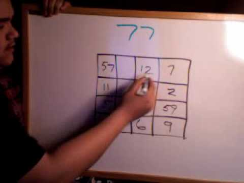 Repeat youtube video Magic Trick: Magic with Numbers REVEALED