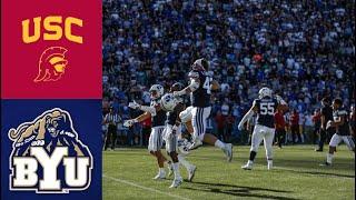 #24 USC vs BYU Highlights (F/OT) | NCAAF Week 3 | College Football Highlights