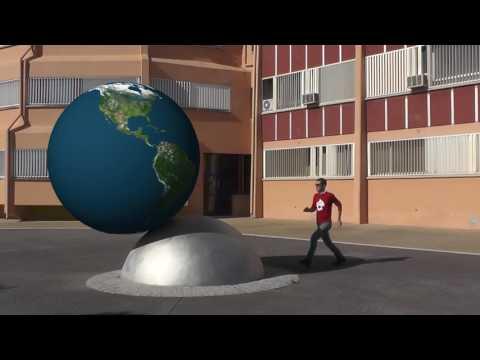 Video mini globo terraqueo