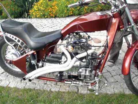 """Motocykl z silnikiem od... """"malucha""""!"""