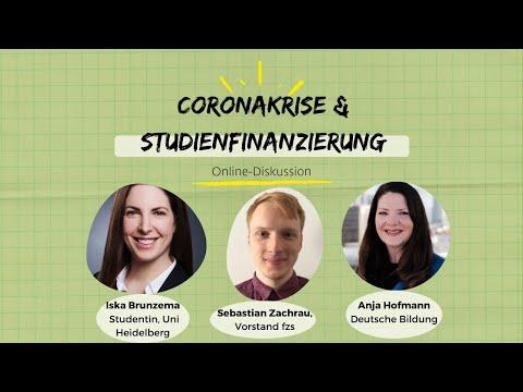Online-Diskussion: Studienfinanzierung in der Coronakrise: Was hilft jetzt wirklich?