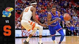 Kansas vs. Syracuse Basketball Highlights (2017)