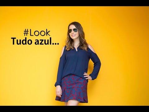 Fashion Film: Look tudo azul!