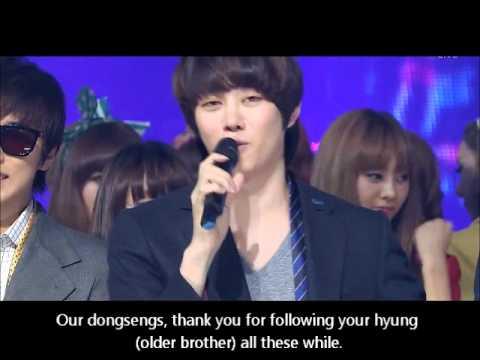[ENG] 110828 Super Junior win - Heechul Final speech