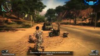 Just Cause 2 PC Gameplay Part 1 Maxed Out Settings 720p HD Win 7