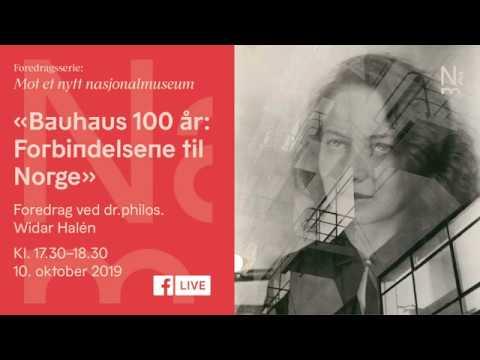 Bauhaus 100 år: Forbindelsene til Norge