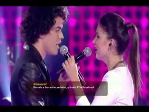 Sam Alves Vitorioso do The Voice Brasil   I Look To You Whitney Houston